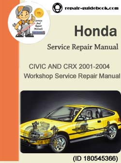 2001 honda civic repair manual free download pdf