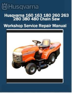 Husqvarna Chainsaw Workshop Manuals PDF Download