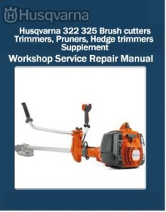 Husqvarna 322 325 Brush cutters, Trimmers, Pruners, Hedge trimmers Supplement