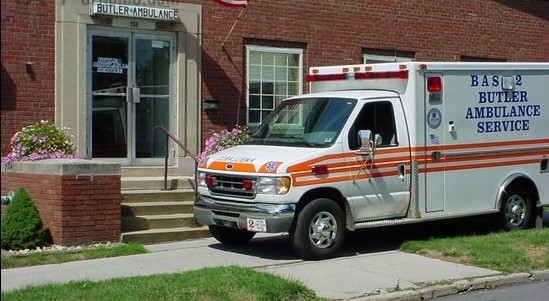 Auction auxiliary equipment - the ambulance