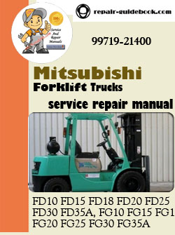 ... FG15K, FG18K FG20K FG25K FG30K FG35K MC Workshop Service Repair Manual