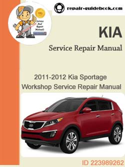 KIA SPORTAGE OWNER S MANUAL Pdf Download