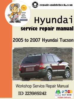 service manual pdf 2005 hyundai tucson service manual. Black Bedroom Furniture Sets. Home Design Ideas