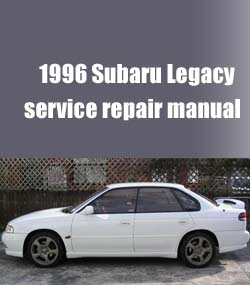 1996 Subaru Legacy Workshop Factory Service Repair Manual