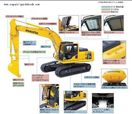 Komatsu product of the indicators are in the world as the goal