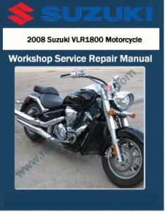 2008 Suzuki VLR1800 Motorcycle Workshop Service Repair Manual