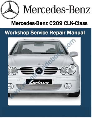 Mercedes benz pdf download factory workshop service for Mercedes benz c class owners manual