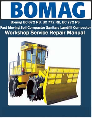 bomag instruction for repair
