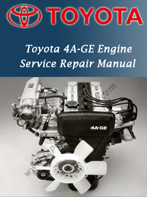 Toyota 4A-GE Engine Workshop Service Repair Manual