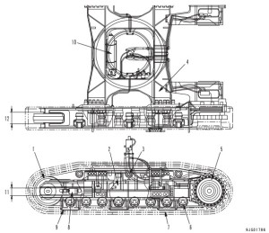Komatsu hydraulic excavator galeo pc2000-8 serial numers 20001 and up shop repair service manual download