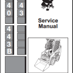 Bobcat 440, 443, 443B Loader Service repair Manual