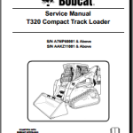 Bobcat T320 Compact Track Loader Service Repair Manual Download PDF S6987046 sm 9-08
