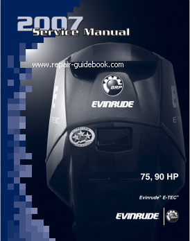 2007 evinrude e tec 75 90 hp service repair manual pdf Evinrude Motor Years Evinrude Pictures by Year