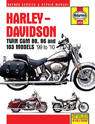 Harley Davidson TWIN CAM 88 96 & 001 (Haynes Service & Repair Manual)