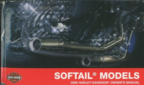 Softail Models 2006 Harley Davidson Owners Manual