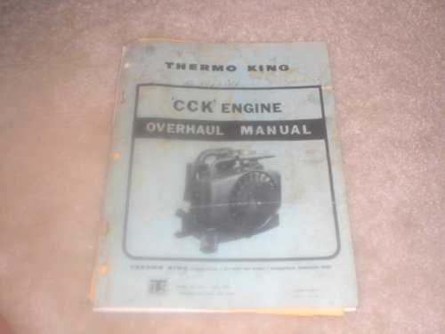 thermo king CCK engine overhaul manual