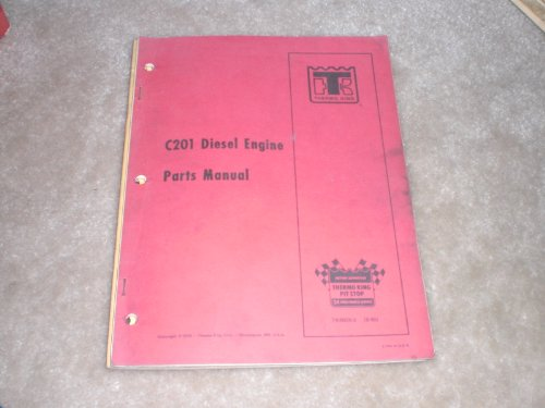 Thermo King Diesel Engine Parts Manual C201
