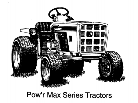 POW ARE MAX SERIES TRACTORS