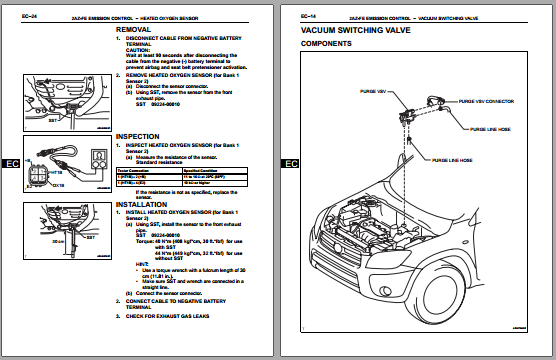 20052009    toyota    rav4 factory    service       repair    manual PDF