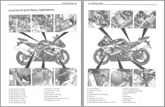 pdf  repair manual for suzuki gsx r600 k4 04 2004 2005 pdf download factory workshop 2008 Suzuki C109RT suzuki vlr 1800 service manual download