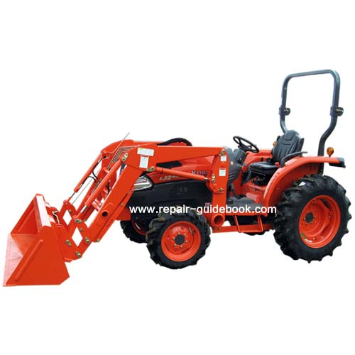 Kubota L3240 Tractor Review Test and fault repair manual